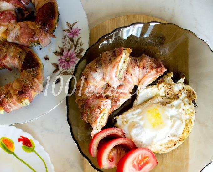 Мясные бублики с тремя начинками: рецепт с пошаговым фото
