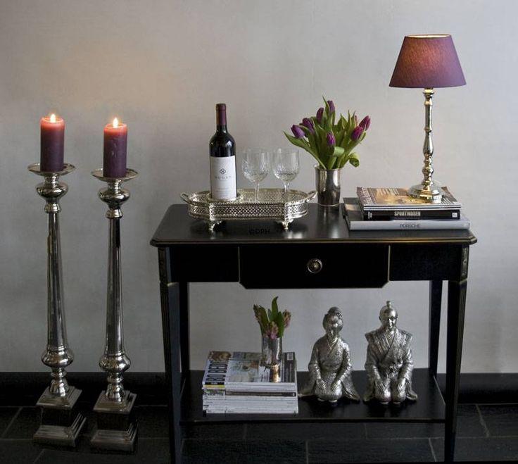 Lene Bjerre Clara lampe | nikkelbelagt messing | E | Nr. 58190 | Alt. 143903235 | DPH Trading
