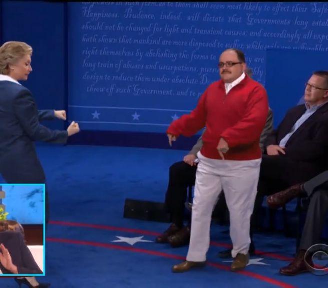 Hillary Clinton and Ken Bone Have a Debate Dance-Off on 'Ellen' [Video]