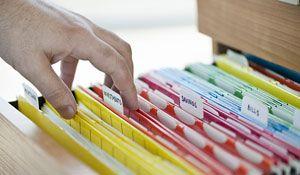 Como organizar documentos, contas e comprovantes