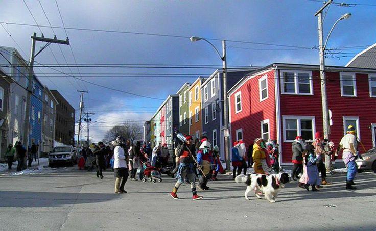 Christmas Mummers in St. John's, Newfoundland