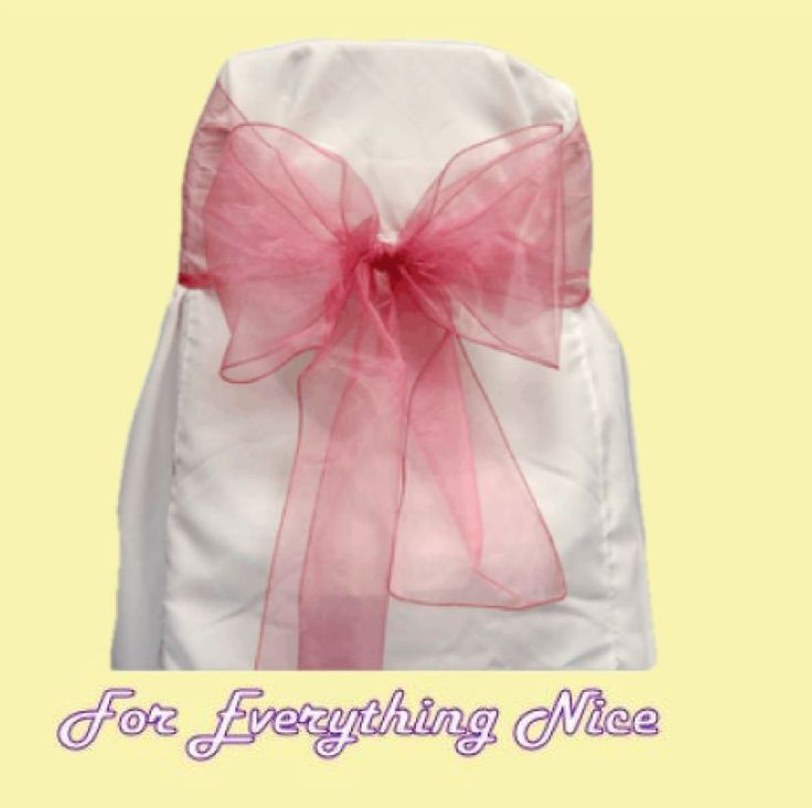For Everything Genealogy - Colonial Rose Organza Wedding Chair Sash Ribbon Bow Decorations x 100, $235.00 (http://foreverythinggenealogy.mybigcommerce.com/colonial-rose-organza-wedding-chair-sash-ribbon-bow-decorations-x-100/)