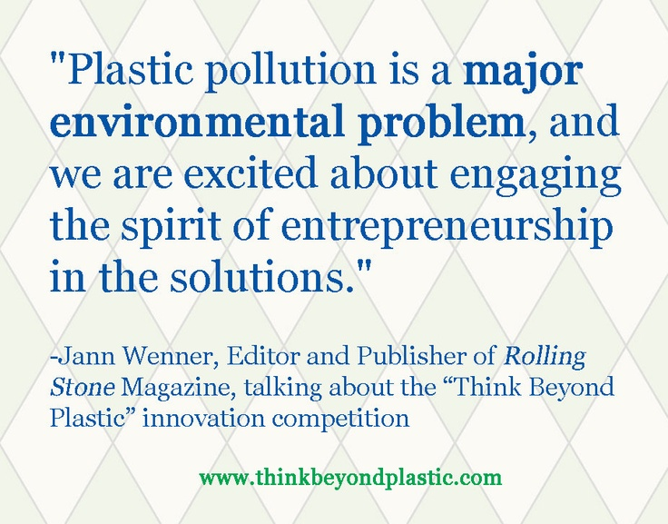 essay on plastics and environment Plastic causes serious damage to environment during its production process and during its disposal process a the major chemicals that go into the making of plastic are highly toxic and pose serious threat to living beings of all species on earth.