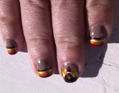 42 best diy easter nail design images on pinterest nail scissors thanksgiving nails solutioingenieria Image collections