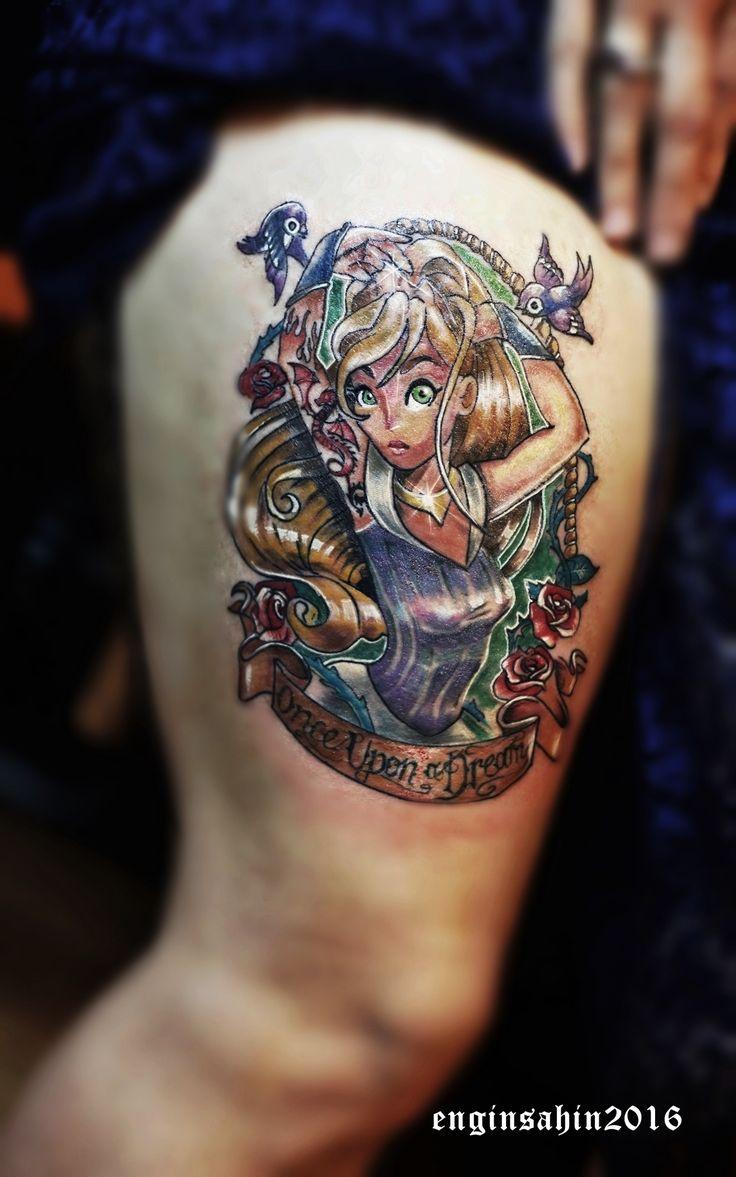 engin sahin - bacak dövmesi - dövme - pin up tattoo - dövme - dövme sanatcisi - taksim dövme