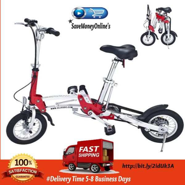 Save Space Folding Mini Bike 12 Inch Wheel Ultra-Light Speed Folding Bicycles  The Folding Mini Bike 12 Inch Wheel is a great performance folding bike which is comfortable to ride. You can ride it almost anywhere and as it is a folding bike can...