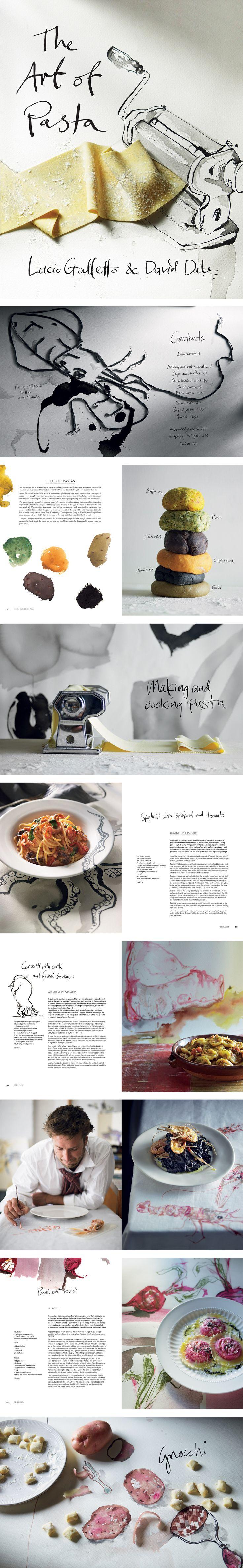 The Art of Pasta – Lucio Galletto and David Dale / Designed by Daniel New / Illustration by Luke Sciberras / Photography by Anson Smart / Penguin/Lantern / Cookbook / Book Design / Cover
