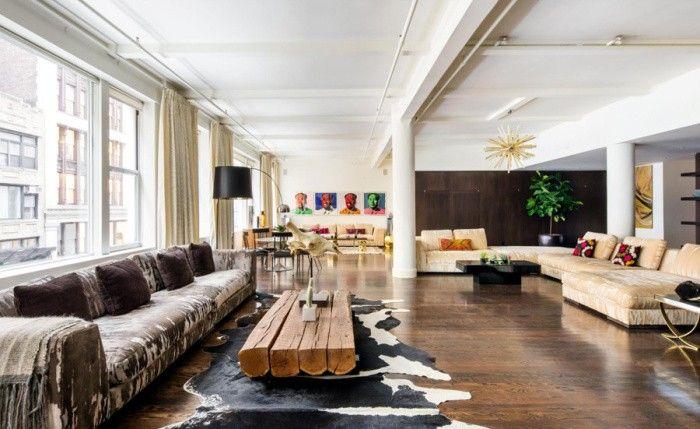 Inside a Fashion It Girl's Stylish Manhattan Loft via @MyDomaine