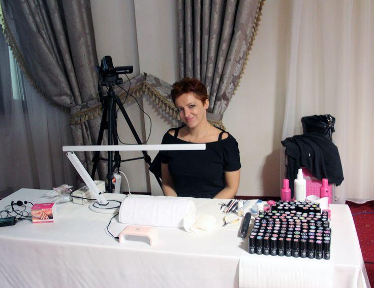 Agnieszka gotowa do pokazu :)