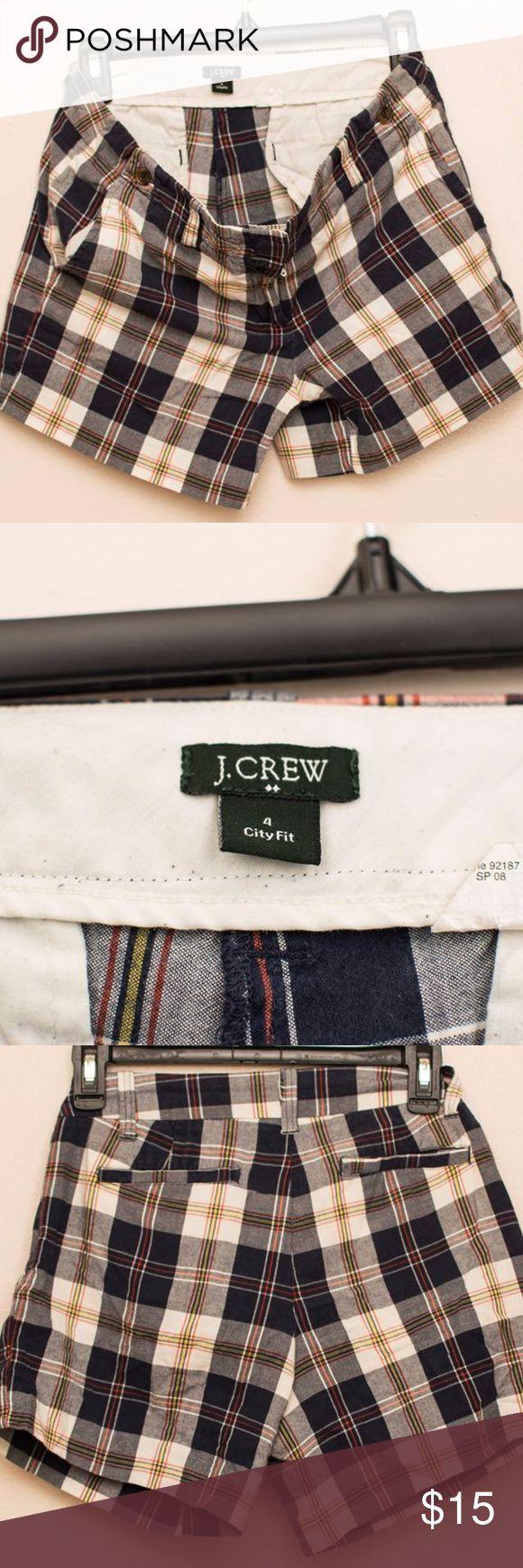J Crew shorts J Crew factory plaid shorts J. Crew Factory Shorts