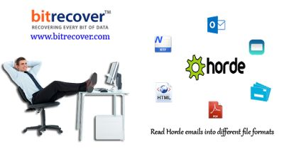 Method to Transfer Emails from #Horde to #Windows Live Mail, #Apple Mail, #PDF and #Outlook.