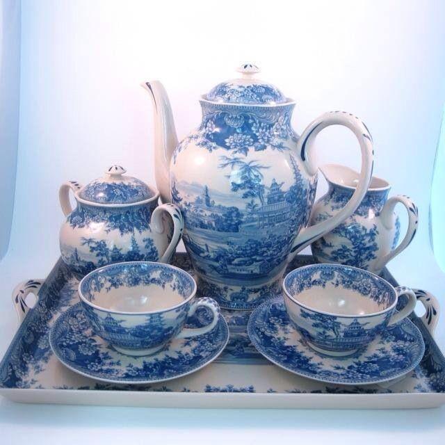 Blue China Porcelain