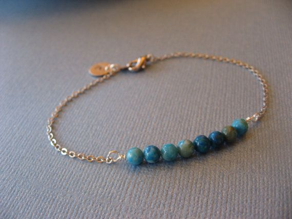 Hey, I found this really awesome Etsy listing at https://www.etsy.com/listing/449848818/personalized-turquoise-bead-bracelet