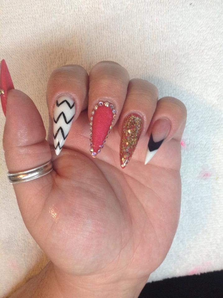 12 best nails, acrylic nails, gel nails and more images on Pinterest ...