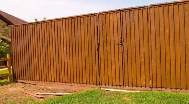 Wood Fence Styles - Cedar Privacy Fence - Austex Fence & Deck