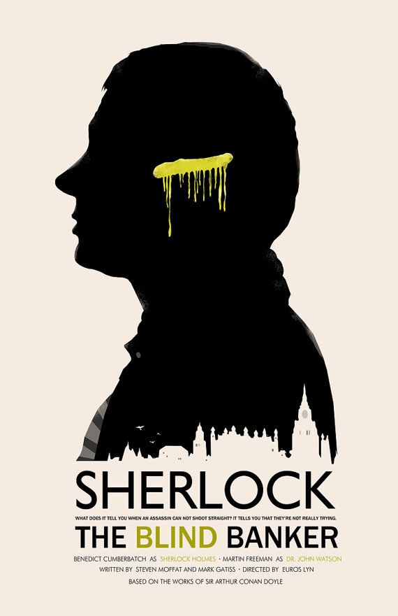 Sherlock: The Blind Banker - poster - Michael Rogers