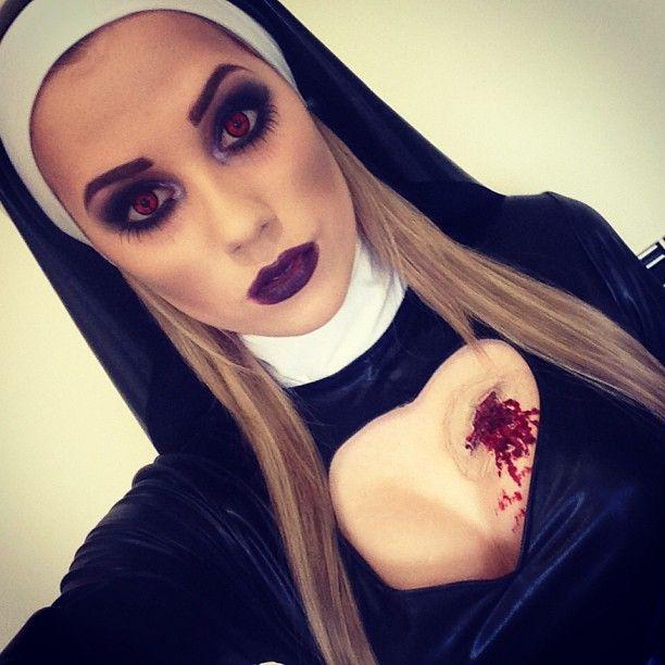 Zombie/vampire nun