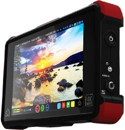 """Atomos Ninja Flame: 7"""" HDR/high bright display (1500 nits, 1920x1200) 10 bit — 3D LUT — ProRes, DNxHR, Sony&Canon Raw conversion, 4K 60p"""