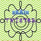 Brain Twister's are a great way to get your kids thinking and looking at words in a whole new way. Use for a Morning Work activity or End of Day Tr...
