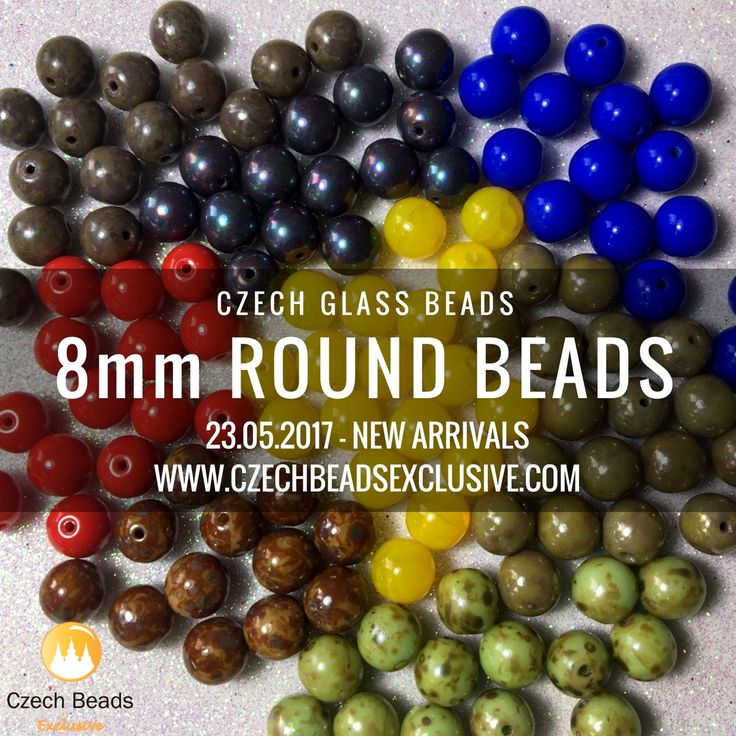 Today CzechBeadsExclusive represents you our new arrivals of Czech Glass 8mm Round Beads. This shape combines very well with a lot of types beads, including more detailed beads, floral beads, seed beads, etc. We at CzechBeadsExclusive have these beads in the most adorable finishes: Picasso finish, Luster finish, Matte finish, [...]