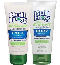 BullFrog Ultimate Sheer Protection Broad Spectrum ...
