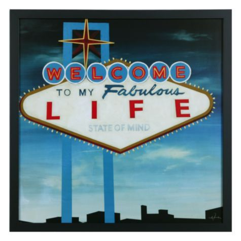 Welcome To My Fabulous Life Art Print Or Painting I