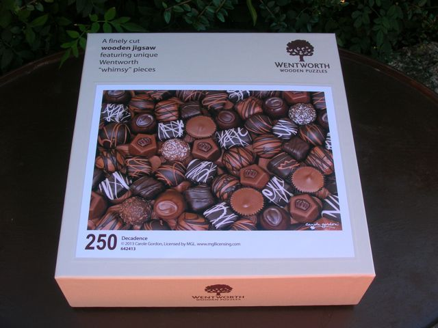 Win an exceptionally high quality wooden Wentworth jigsaw from Chocolate Log Blog