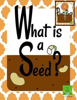 Plants Freebie: What is a seed? will introduce you students to seeds through an information sheet, worksheet, pictures, and a suggestion for  a hands on activity. Please note that this freebie is a small part of the larger packet Plant Parts - A stand alone or supplemental mini-unit. Make sure to follow my store so that you will know when new freebies are available!