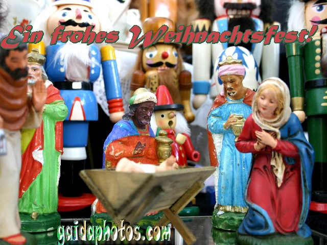 Gratis Ecards zu Weihnachten - Frohes Weihnachtsfest