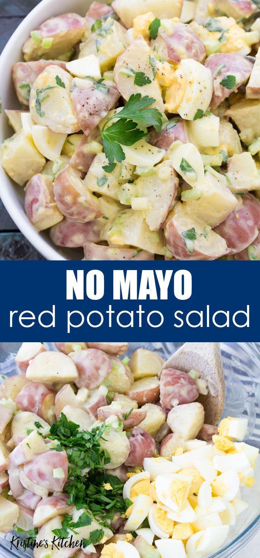Red Potato Salad Recipe In 2020 Potatoe Salad Recipe Potato Salad Recipe Easy Red Potato Salad Recipe