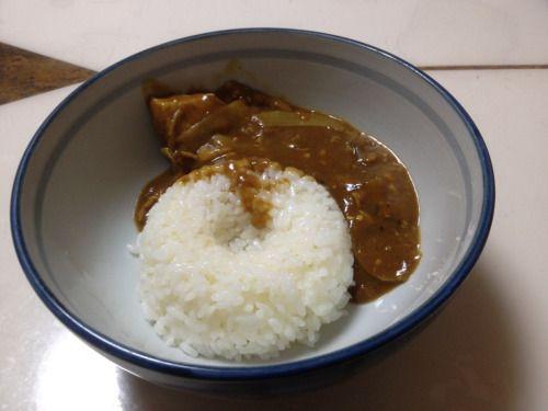 No.1 野菜スープ×しゃぶしゃぶの余り出汁+カレー粉 (1/5 18:30)