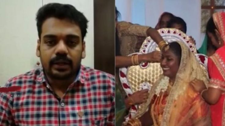 Video: Kerala man in Saudi doesnt get leave at work attends own wedding on webcam