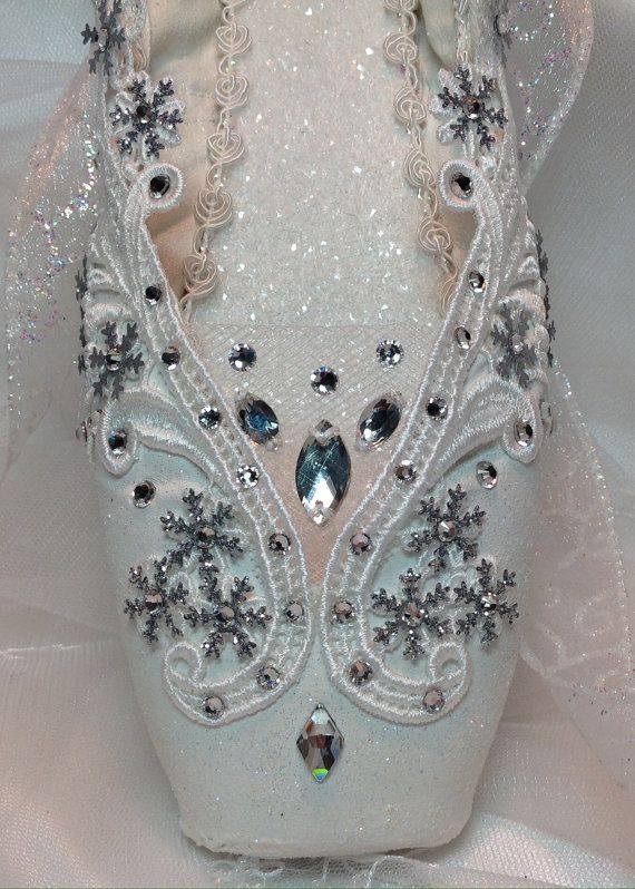 Nutcracker Snow Queen/Snowflake in white. by DesignsEnPointe
