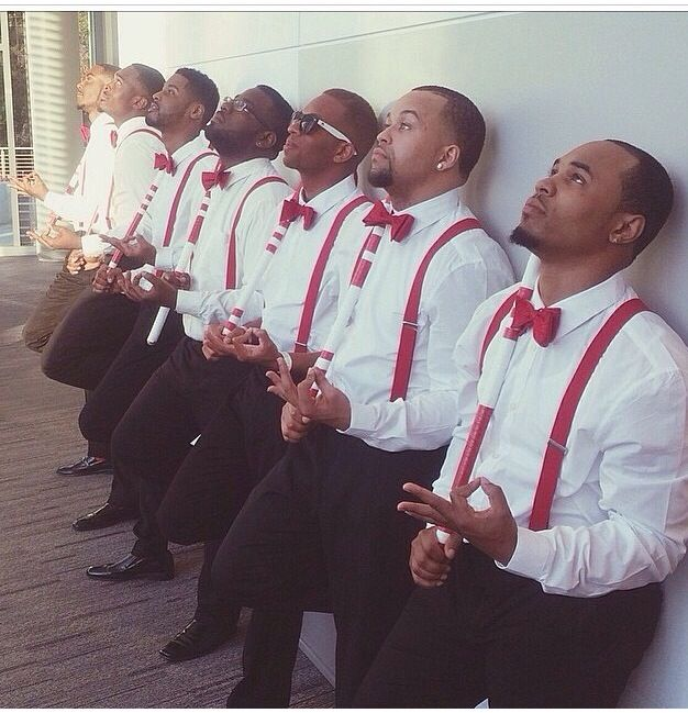 My brothers over at Delta  Gamma chapter of Kappa Alpha Psi fraternity Inc .  Shaw University ... YO YO!