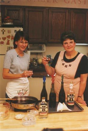 German-Russian Tradition!..Wedding shnapps, off of the Germans From Russia Video!