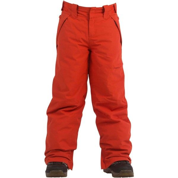 Billabong Girls Girls Twisty Pant (£42) ❤ liked on Polyvore featuring activewear, activewear pants, outerwear, pant outerwear, snow, tangerine and billabong