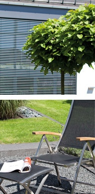 Gartenmöbel von SonnenPartner®: Klappsessel Paragon, Edelstahl mit Textilgewebe, Schwarz, ca. 58 cm breit