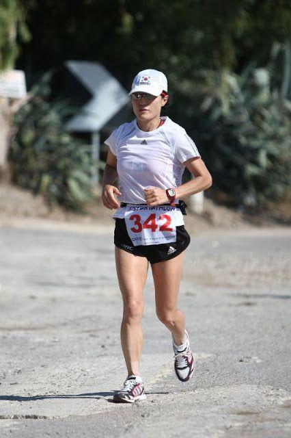 2008 - Σοκ Χόε Χουρ - Sook Hoe Hur 1η για τις γυναίκες η Κορεάτισσα  30 ώρες 03΄ 22΄΄