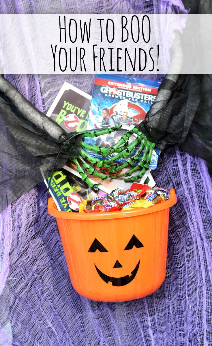Halloween Boo Kit - Ghostbusters DVD Release