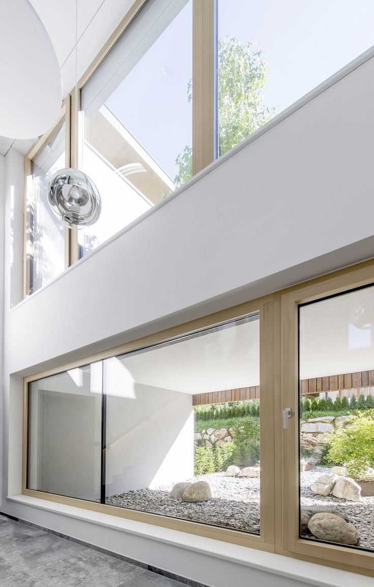 Internorm 39 s window system hf 310 ensures high thermal for Internorm fenster