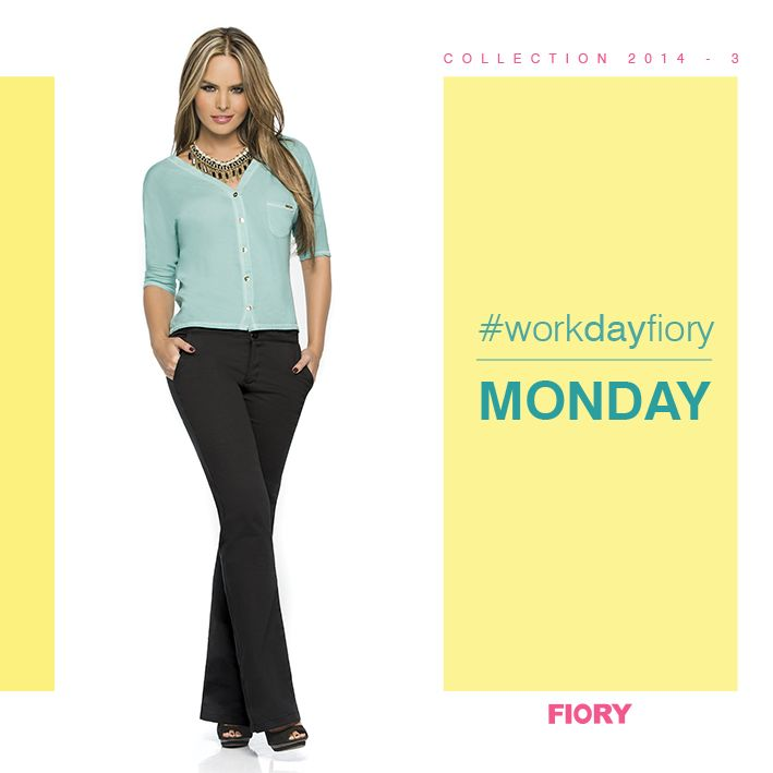 MONDAY!!! #workdayfiory Empecemos la semana con mucho color!! :D