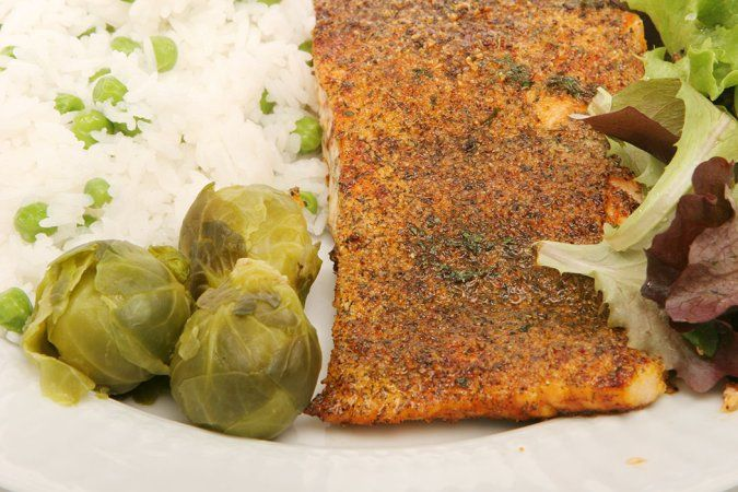 Roasted Halibut With Walnut Crust Recipe — Dishmaps