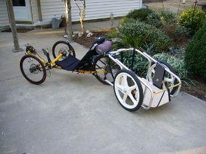 recumbent bicycle trailer