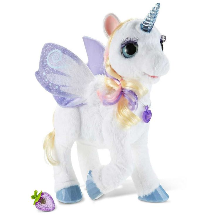 FurReal Friends StarLily My Magical Unicorn is ready to be