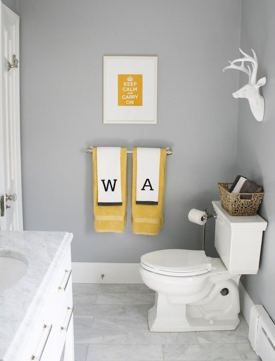 The 25 best yellow bathrooms designs ideas on pinterest for Bright yellow bathroom ideas