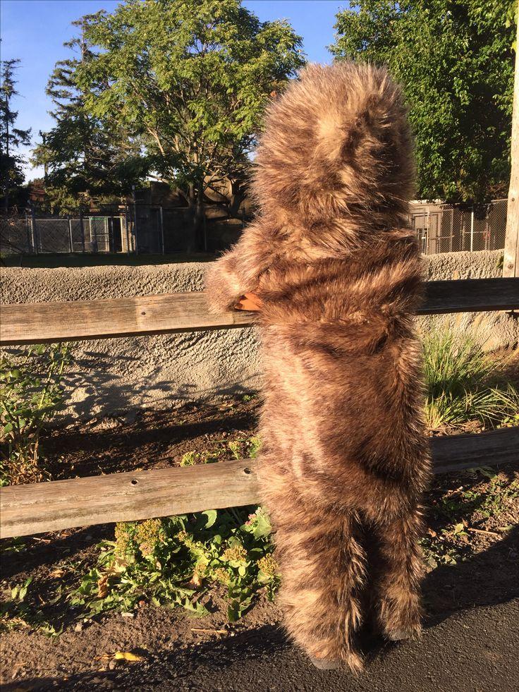 Handmade Sasquatch Costume Bigfoot Toddler