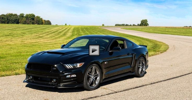 2015 ROUSH MUSTANG STAGE 3 GOING SIDEWAYS
