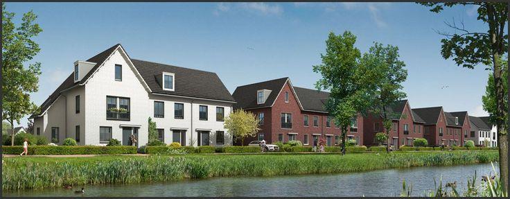 #Arnhem - Horstenhoogte - Deze verschillende woningen liggen in een ecologische zone. #bouwfonds #nieuwbouw #groenwonen