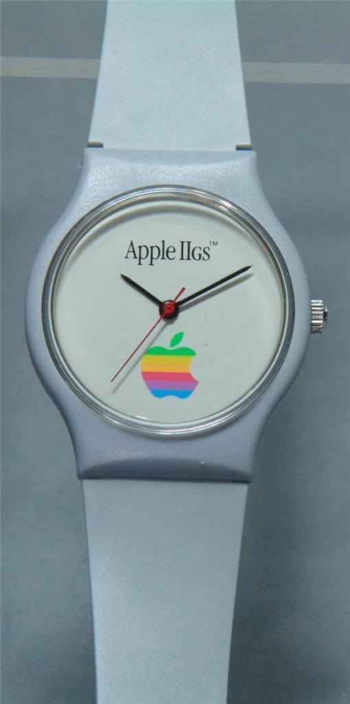 Vintage 1980's Apple Computer IIGS Analog Promotional Watch