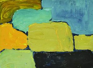 Artiste Colle Chic créations : Sylvette CHABRIER, abstraction et délicatesse des couleurs Découvrez ses mini tableaux